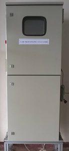 BOD/COD UV analyzer's external panel